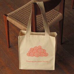 CAS Curly Cloud Tote Bag